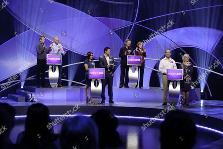 Editorial image of 'Pointless' TV Programme, London, Britain - 22 Dec 2010