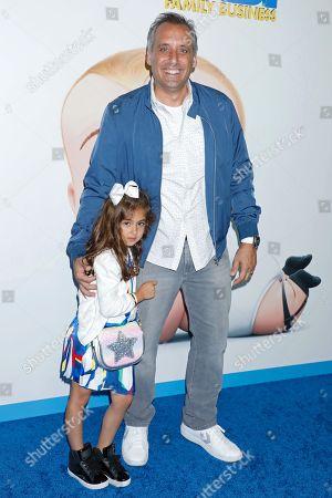 Joe Gatto and daughter Milana Gatto