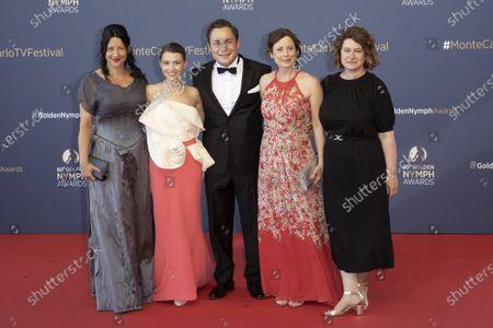 Henriette Lippold, Janina Fautz, Ferdinand Lehmann, Inka Friedrich and Christine Hirt