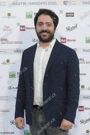 Editorial image of Nastri d'Argento blue carpet, Rome, Italy - 22 Jun 2021