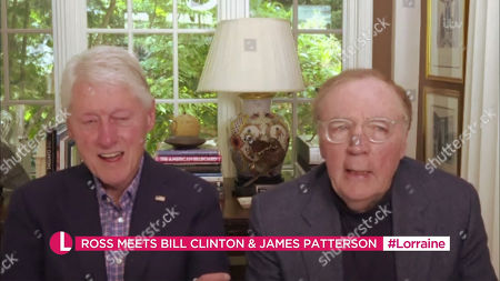 Stock Photo of Bill Clinton and James Patterson