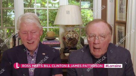 Stock Image of Bill Clinton and James Patterson