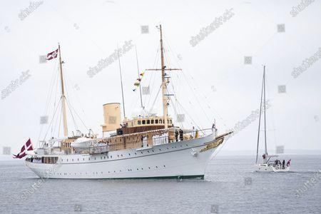 Editorial picture of Danish Queen Arrives on Royal Yacht Dannebrog to Soenderborg, Denmark - 21 Jun 2021