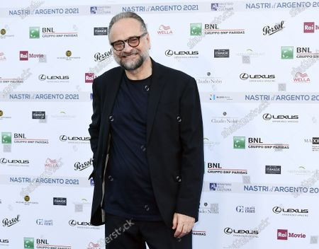 Editorial picture of Blue carpet nominations for the 76th edition of Nastri d'Argento Film Awards, Rome, Italy - 22 Jun 2021
