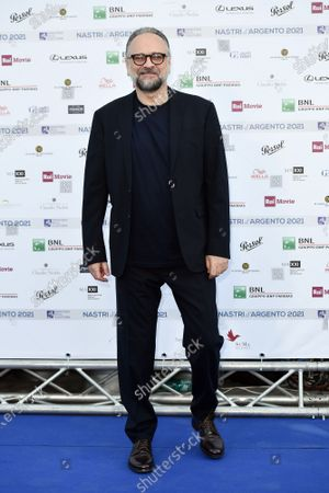 Editorial photo of Blue carpet nominations for the 76th edition of Nastri d'Argento Film Awards, Rome, Italy - 22 Jun 2021