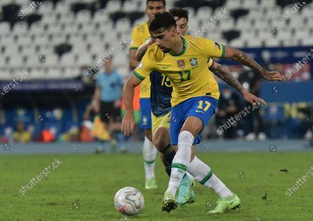Editorial image of Brazil v Colombia, Copa America Group B Football match, Estadio Nilton Santos, Rio de Janeiro, Brazil - 23 Jun 2021