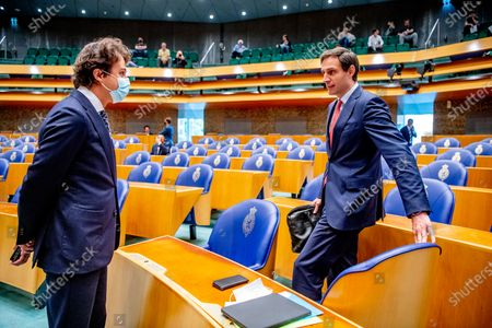 Editorial picture of Debate in the House of Representatives on the final report of informateur Mariette Hamer, The Hague, The Netherlands - 23 Jun 2021