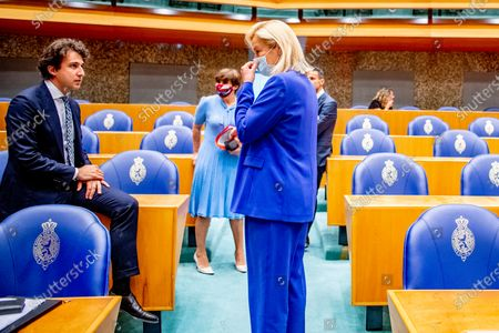 Editorial photo of Debate in the House of Representatives on the final report of informateur Mariette Hamer, The Hague, The Netherlands - 23 Jun 2021