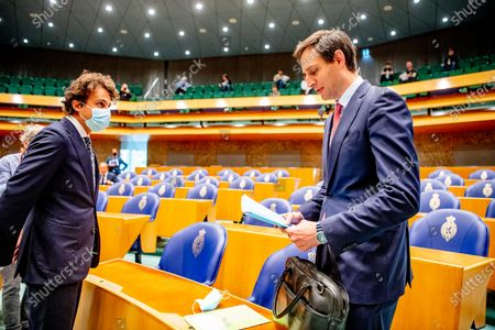 Editorial image of Debate in the House of Representatives on the final report of informateur Mariette Hamer, The Hague, The Netherlands - 23 Jun 2021