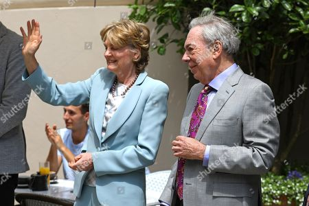 Lady Madeleine Lloyd Webber and Lord Sir Andrew Lloyd Webber attend Theatre Royal on June 23, 2021 in London, England. Theatre Royal Drury is the oldest theatre site in continuous use in the world, since 1812, every reigning British monarch has attended performances in the current theatre.