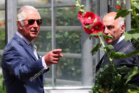 Prince Charles and Camilla Duchess of Cornwall visit the Royal Parks in Hyde Park, London