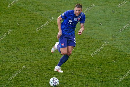 Stock Photo of Milan Skriniar of Slovakia