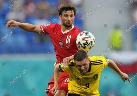 Editorial photo of Group E Sweden vs Poland, St Petersburg, Russian Federation - 23 Jun 2021
