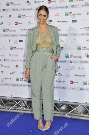 Editorial image of Nastro d'Argento award photocall, Rome, Italy - 23 Jun 2021