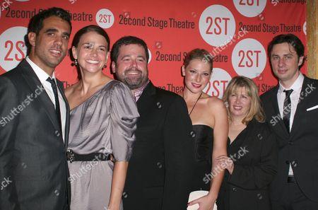 Bobby Cannavale, Sutton Foster, Peter DuBois, Ari Graynor, Carole Rothman, Zach Braff