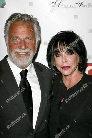 Jonathan Goldsmith and his wife Barbara Goldsmith