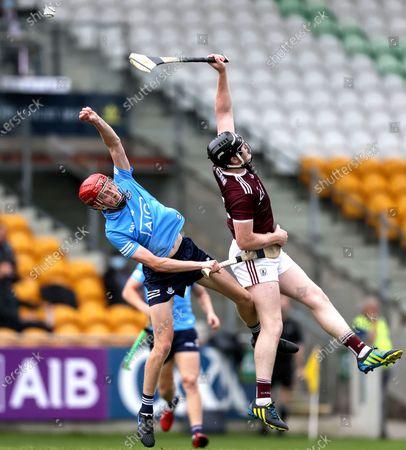 Dublin vs Galway. Dublin's Alan Murphy and John Cooney of Galway