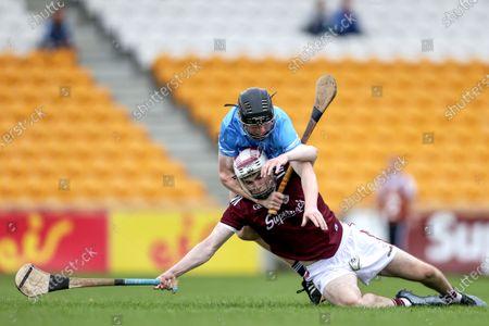 Dublin vs Galway. Dublin's Michael Conroy and Donal O'Shea of Galway