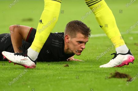Matthias Ginter of Germany reacts during the UEFA EURO 2020 group F preliminary round soccer match between Germany and Hungary in Munich, Germany, 23 June 2021.