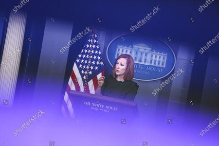 White House press briefing, Washington DC