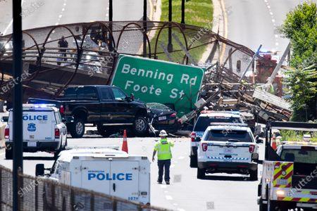 Pedestrian bridge collapse, Washington DC