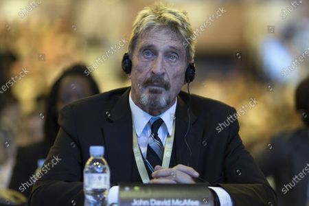 Founder of the first commercial anti-virus program that bore his name, John McAfee listens during the 4th China Internet Security Conference (ISC) in Beijing. John McAfee, the creator of the antivirus named after him, has been found dead in a cell of a jail near Barcelona, a government source told The Associated Press on Wednesday June 23, 2021 on the same day that a Spanish court issued a preliminary ruling in favor of his extradition to the United States to face tax-related criminal charges