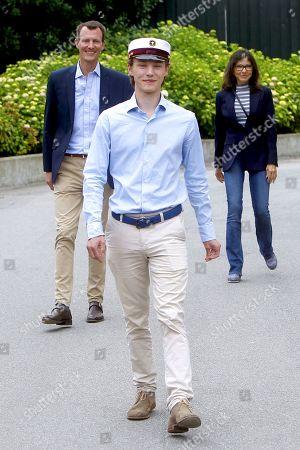 Prince Felix graduates Gammel Hellerup High School, Hellerup