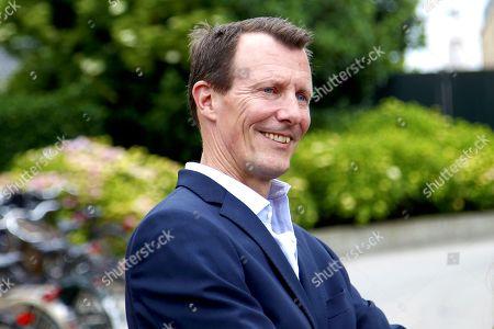 Editorial image of Prince Felix graduates Gammel Hellerup High School, Hellerup, Denmark - 23 Jun 2021