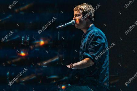 Editorial photo of Tom Odell in concert, London, UK - 22 Jun 2021