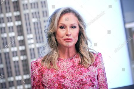 Kathy Hilton of 'Real Housewives of Beverly Hills' visits the Empire State Building in New York City