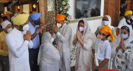 Editorial image of Antim Ardas Of Legendary Sportsperson Milkha Singh And His Wife Nirmal Kaur, Chandigarh, India - 23 Jun 2021