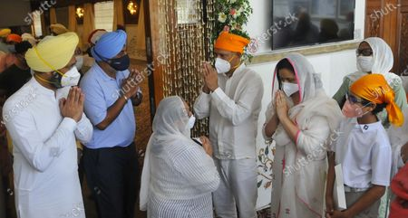 Editorial photo of Antim Ardas Of Legendary Sportsperson Milkha Singh And His Wife Nirmal Kaur, Chandigarh, India - 23 Jun 2021
