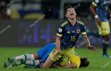 Editorial photo of Colombia Copa America Soccer, Rio De Janeiro, Brazil - 23 Jun 2021