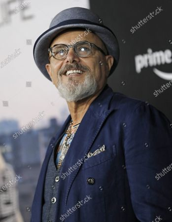 """Stock Photo of Joe Pantoliano arrives on the red carpet for the premiere of the new documentary """"Mary J. Blige's My Life"""" for Amazon Prime Video at the Rose Theater-Jazz at Lincoln Center in New York City"""
