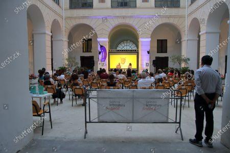 Editorial photo of Salerno Literature Festival 2021, Campania/Salerno, Italy - 23 Jun 2021