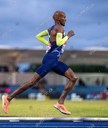 Editorial photo of Muller British Athletics Championships, Athletics, Manchester Regional Arena, Manchester, UK - 25 Jun 2021