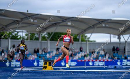 Editorial image of Muller British Athletics Championships, Athletics, Manchester Regional Arena, Manchester, UK - 25 Jun 2021