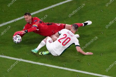 Manuel Neuer, Germany Roland Salai, Hungary