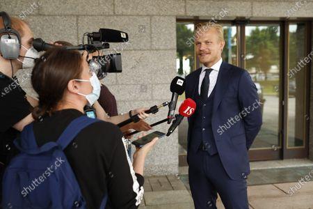 Editorial image of UEFA Euro 2020 football tournament, Vantaa, Finland - 24 Jun 2021
