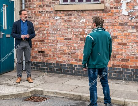 Coronation Street - Ep 10372 & Ep 10373 Friday 9th July 2021 Paul Foreman, as played by Peter Ash, confronts Billy Mayhew, as played by Daniel Brocklebank, demanding to know why on earth he'd let Summer hang out with Will when he nearly got her killed.
