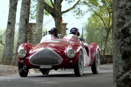 1000 Miles (1000 Miglia), 2021 edition. it's a stage race with historic cars.