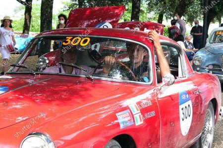 Editorial photo of John Elkann at historic race '1000 Miglia', Arezzo, Italy - 18 Jun 2021