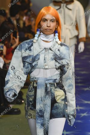 Editorial picture of Neith Nyer show, Runway, Spring Summer 2022, Paris Fashion Week Men's, France - 24 Jun 2021