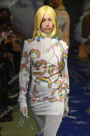 Editorial photo of Neith Nyer show, Runway, Spring Summer 2022, Paris Fashion Week Men's, France - 24 Jun 2021