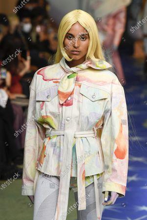 Editorial image of Neith Nyer show, Runway, Spring Summer 2022, Paris Fashion Week Men's, France - 24 Jun 2021