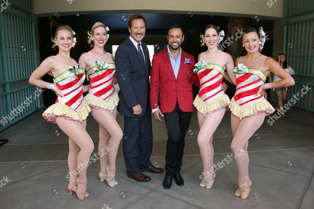 Editorial photo of FIDM Welcomes the Radio City Music Hall Rockettes, Los Angeles, America - 12 Aug 2010