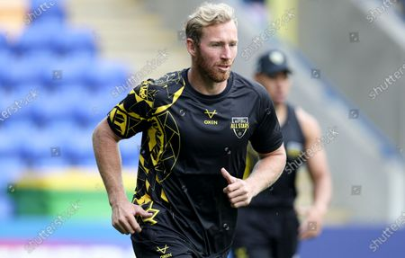 Matt Prior of the Combined Nations All Stars during the session