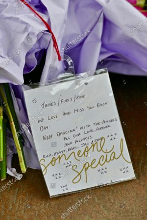 More floral tributes have been left in the bandstand for the victims of the terrorist attack at Forbury Gardens in Reading. At a memorial service held on Sunday in the gardens where the attacks took place, friends, family members and officials honoured James Furlong, Joe Ritchie-Bennett and David Wails. The three friends were killed a year ago by 26-year-old Khairi Saadallah, from Libya. Saadallah also injured three others, Stephen Young, 51, Patrick Edwards, 29, and Nishit Nisudan, 34, who he attacked with an eight-inch knife.
