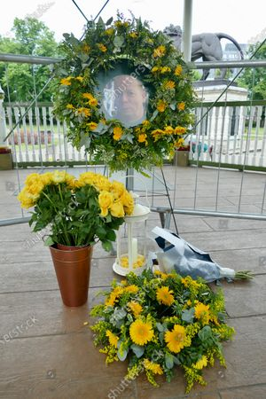 Stock Picture of More floral tributes have been left in the bandstand for the victims of the terrorist attack at Forbury Gardens in Reading. At a memorial service held on Sunday in the gardens where the attacks took place, friends, family members and officials honoured James Furlong, Joe Ritchie-Bennett and David Wails. The three friends were killed a year ago by 26-year-old Khairi Saadallah, from Libya. Saadallah also injured three others, Stephen Young, 51, Patrick Edwards, 29, and Nishit Nisudan, 34, who he attacked with an eight-inch knife.