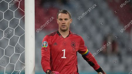 Germany's goalkeeper Manuel Neuer during the Euro 2020 soccer championship group F match between Germany and Hungary at the Allianz Arena in Munich, Germany